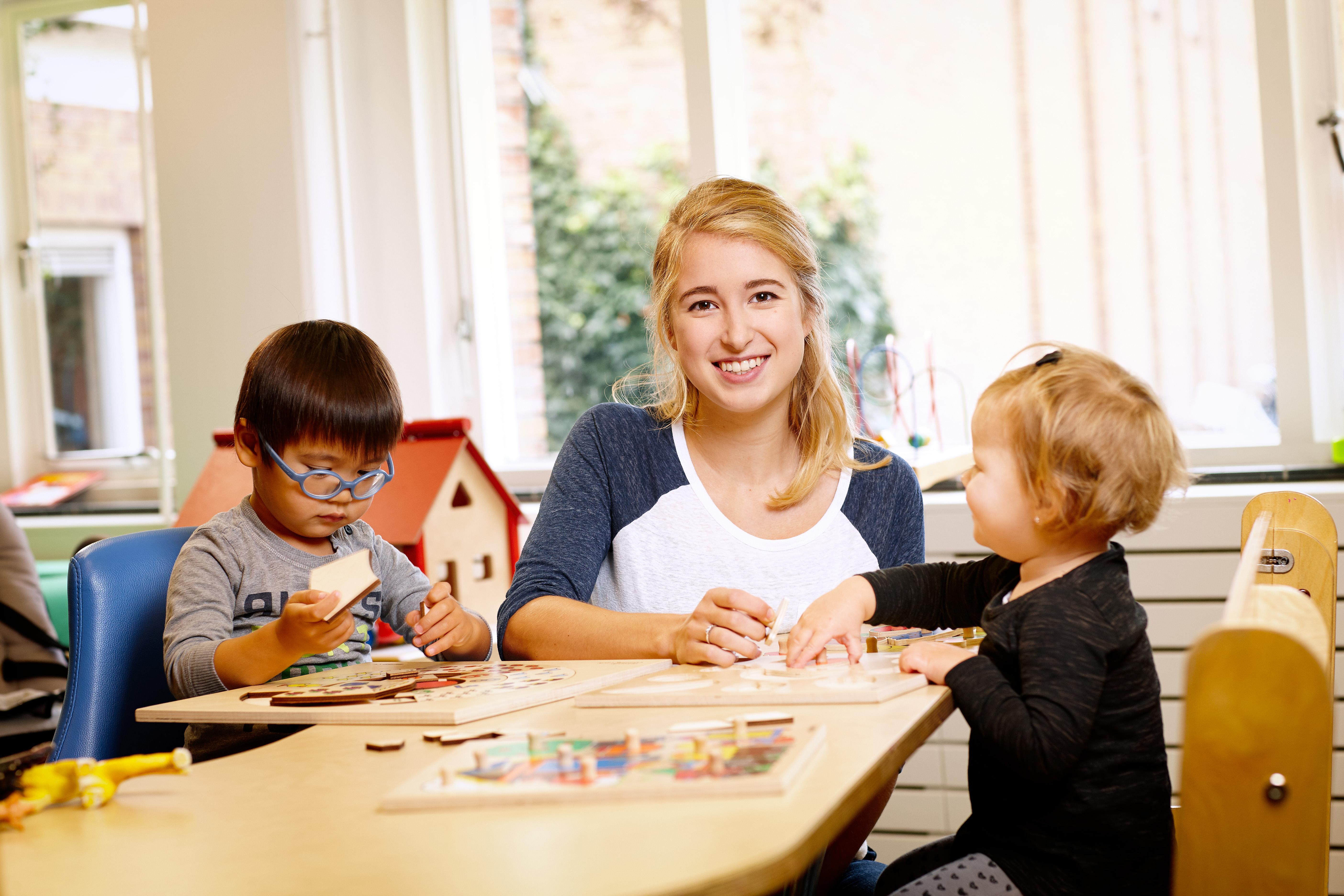 Scalda foto opleiding Pedagogisch medewerker kinderopvang