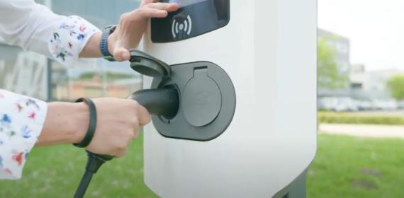 laadpaal elektrische auto duurzaam Scalda